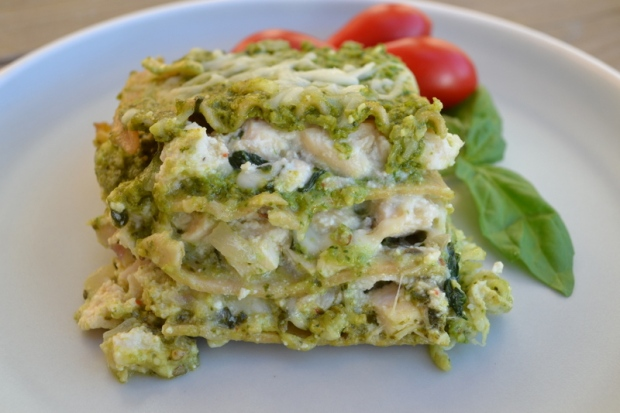 Chicken-Pesto-Lasagna-Recipe