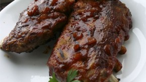 Whiskey Grilled Baby Back Ribs
