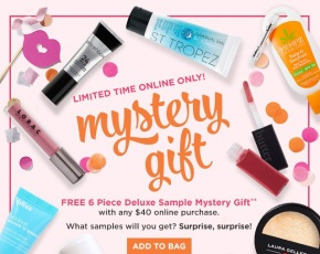 Ulta Free 6 Piece Deluxe with $40 Purchase!!