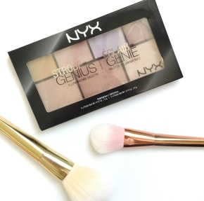 Review of NYX Palettes: contour, blush, illuminators